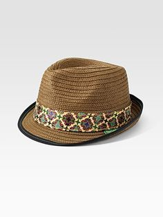 Who's man needs one of these for the Summer? -Robert Graham - Straw Fedora - Saks.com