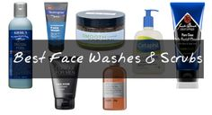 ...because you don't need to use your girlfriend's flowery face wash anymore. Flip through the 9 best face washes and scrubs for men this season.