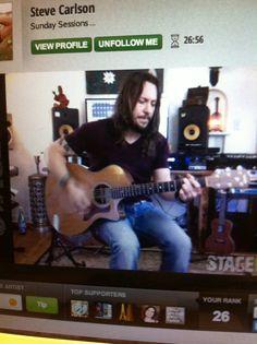 Steve Carlson Stageit show  01/05/2014
