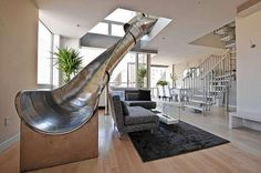 Why not have a slide in your house