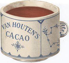 VAN HOUTEN Cacao Trade Card...