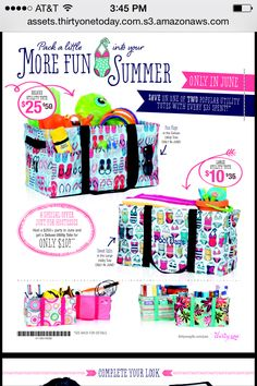 June Monthly Special! Thirty One Summer 2014   shop at www.mythirtyone.com/amiraconrad