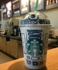 Next time you order a coffee at Starbucks say R2-D2 is your name