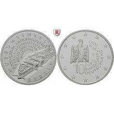 Bundesrepublik Deutschland, 10 Euro 2002, Museumsinsel Berlin, A, PP, J. 495: 10 Euro 2002 A. Museumsinsel Berlin. J. 495; Polierte… #coins