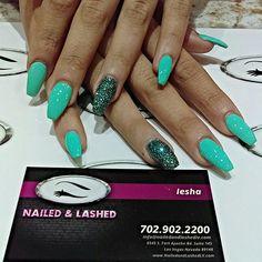 These nails by Iesha are ultra cute! #naildesign #gelnails #lovemanicure #nailfeature #manicure #nailedandlashed #nailartaddict #nailtech #nailartwow #nails4me #nailartclub #mani #nailshapes #nailsrus #nailrusecrets #naillover #nailedandlashedlv #coloroftheday #naillook #vegasnails #vegasnailchick #ilovenails #nailvegas #splatternails #ritzynails #nailaddict by nailedandlashedlv