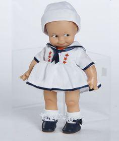 Kewpie Dolls | Kewpie Doll ~ Sailor Girl Kewpie Doll