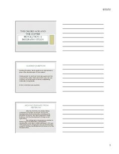 The Gilded Age and the Copper Revolution: A Biography Study (Lesson Presentation) Gilded Age, Biography, American History, Revolution, Presentation, Copper, Bullet Journal, Study, Studio