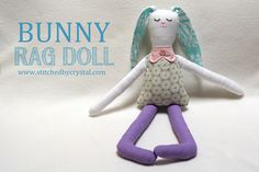 Some great Sewing PDF Patterns for Easter Bunny Carrots DIY Gifts and How to do's.