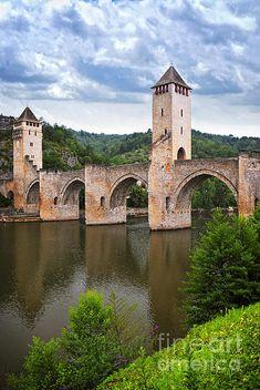Pont de Valentre, Cahors - France