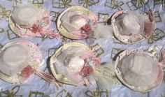 Victorian Christmas Hats Ornaments Christmas Tree Victorian Style Pretty Hats