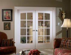 Interior MDF Common Arch French Doors