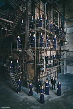 """Deus ex machina"" Estonian Philarmonic Chamber Choir by Kaupo Kikkas"