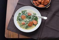 Caldo Verde (Portugese Kale and Sausage Soup) #paleo #primal #glutenfree