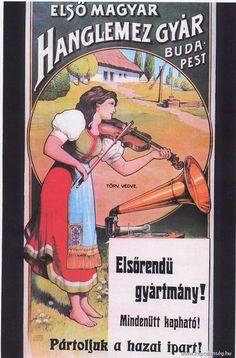 Régi magyarországi plakátok - képtelenség.hu Retro Ads, Vintage Ads, Vintage Images, Vintage Signs, Vintage Posters, Record Players, Advertising Poster, Illustrations And Posters, Hungary