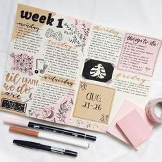 10 Bullet Journal Hacks You Want To Steal - Joanna Rahier - It& Not . - 10 Bullet Journal Hacks You Want To Steal – Joanna Rahier – It& not as easy to create a n - Bullet Journal 2019, Bullet Journal Notes, Bullet Journal Hacks, Bullet Journal Aesthetic, Bullet Journal Spread, Bullet Journal Ideas Pages, Journal Pages, Brain Dump Bullet Journal, Bullet Journal Inspiration Creative