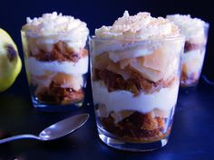 Easy Poached Quince Trifle | Nathalie Bakes