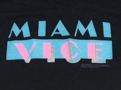 Vintage 1984 Original MIAMI VICE T-Shirt