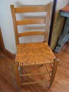 Superior Antique Primitive Ladder Back Chair By LilandLou On Etsy, $140.00 Images