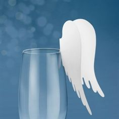 Doing a lesson on angels? Try this with a heavier cup and thin lip on it.