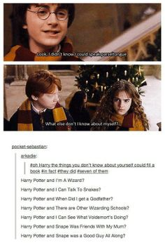 No one tells Harry anything