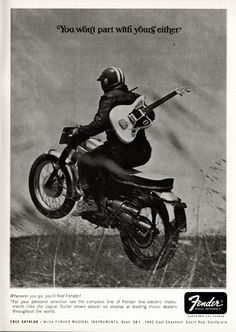 Fender advertisement (1967) You Wont Part With Yours Either