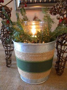 Holiday Christmas Candle