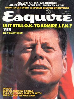 8 Rare Esquire Covers Featuring the Kennedys