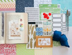 Awesome boy themed class kit by @marcypenner for an upcoming @Studio Calico class