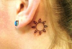 Tatuajes de sol: un tatuaje muy simbólico - Batanga