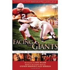 Facing the Giants: novelization by Eric Wilson (Kindle Edition)  http://www.picter.org/?p=B001EHE3YC