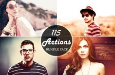 Mega Sale  115 Premium Photoshop Action Bundle by Symufa on Etsy, $6.00