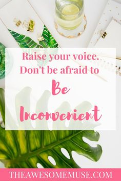 Raise your voice! Do