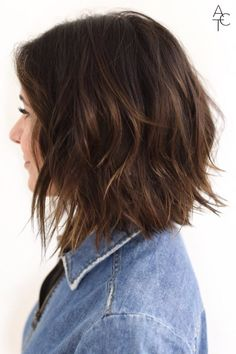 52 Sexy Long Bob Hairstyles You Should Try - Hairstyles Trends Stacked Bob Hairstyles, Cool Hairstyles, Medium Hair Styles, Short Hair Styles, Lob Haircut, Hair Today, Hair Dos, Short Hair Cuts, Hair Lengths