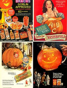 Festively yummy Brach's Halloween candy ad from the Description from… Vintage Halloween Images, Retro Halloween, Halloween Prints, Halloween Items, Halloween Photos, Vintage Holiday, Spooky Halloween, Happy Halloween, Halloween Decorations