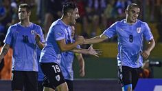 La selección Sub 20 de Uruguay se impuso hoy por 2-0 a la de Brasil, en un partido jugado en la ciudad uruguaya de Maldonado por el Grupo B del torneo sudamericano de fútbol de esta categoría. Enero 17, 2015.