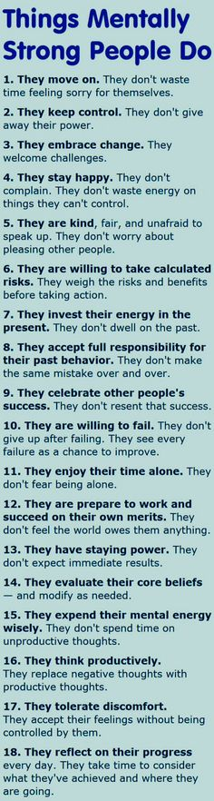 18 things to promote strong positive thinking Build up your mental strength! I know worry is hard to get past but recognize your emotions and understanding them could help mental strength. Use these tips to get yourself started. Positive Thoughts, Positive Quotes, Motivational Quotes, Inspirational Quotes, The Words, Quotes To Live By, Life Quotes, Guter Rat, Mentally Strong