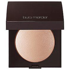 Laura Mercier Matte Radiance Baked Powder Compact in Highlight 01 - golden nude #sephora
