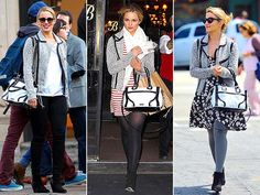 Celebrity Bags of Dianna Agron