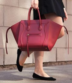Celine Phantom Medium Red