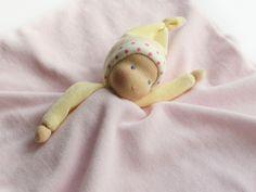 Tissu peluche - un cadeau pour niemowlaczka «Lalinda