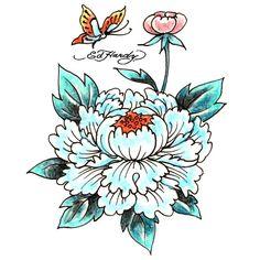 Badass Tattoos, Cool Tattoos, Ed Hardy Designs, Ed Hardy Tattoos, Vintage Tattoo Design, Hawk Tattoo, Palm Tattoos, Old School Tattoo Designs, Traditional Tattoo Flash
