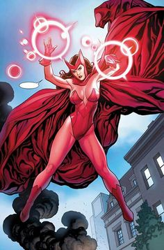 Modest it up a bit. And call it a costume :) Scarlet Witch by Frank Cho.