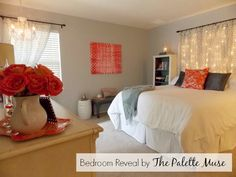 Master Bedroom on a Budget - Save money on decorating through savvy shopping and easy DIY projects.