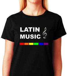 ALL GAY T-shirts -> Coming Soon! -> Launch Date: Friday; Jan 31st 2014 -> @ #ALLGayTshirts .com -> Latin Music -> BLACK Tee -> WOMEN -> T-shirts #LGBT, #Lesbian, #Gay, #Bisexual, #Transgender, #Queer, #GayPride, #Pride, #Glaad, #NOH8, #NOH8Campaign, #Women, #Girl, #Boy, #Men, #Shopping, #Piercing, #Tattoo, #Beyonce, #ANTM, #Workflow, #DYKE, #Fashion, #Military, #Army, #Airforce, #Marines, #Navy, #Married, #Wedding, #Europe, #EuropeanMusic, #Music, #LatinMusic, #Latin, #Spanish, #Spain…