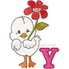 Y -  Cute Embroidery Designs