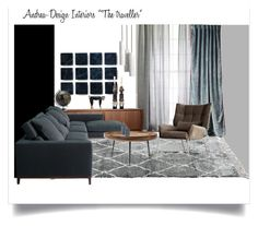"""K40 """"The traveller"""" moodboard by andrea-szakos on Polyvore featuring interior, interiors, interior design, home, home decor, interior decorating, mater, Salvatori, West Elm and Anthropologie"""