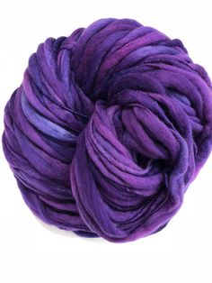 Hanks in the Hood handspun thick n thin art yarn
