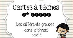 C-à-t groupes dans la phrase2.pdf Classroom Resources, Classroom Ideas, Back To School, High School, Groupes, Teacher Organization, France, Printable, Teaching