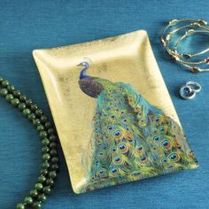 Exotic Peacock Tray - Furniture, Home Decor and Home Furnishings, Home Accessories and Gifts | Expressions