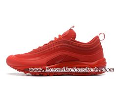 new product 67ccd 4fa7e Nike Air Max 97 OG QS Red 884421 200 Chaussures Nike Pas cher Pour homme  Rouge